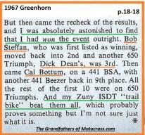1967 C37a Greenhorn, Bob Steffan, Dick Dean, Cal Bottum