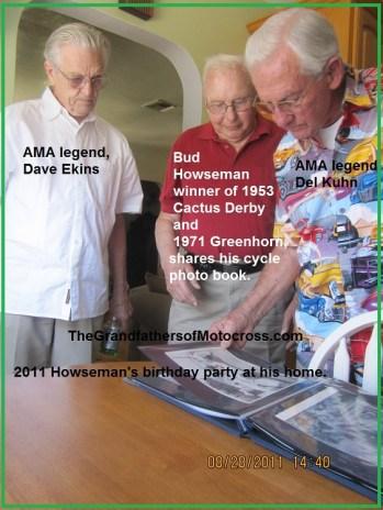 1967 s16 In 2011 Racing legends, Bud Howseman, Dave Ekins & Del Kuhn