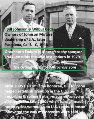 1967 s4 1947-Greenhorn Bill Johnson & Cedar of Johnson Motors