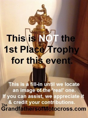 1968 a9 No 1968 Greenhorn trophy to show
