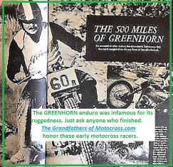 1968 b1 Greenhorn 500 miles