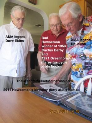 1968 s16 In 2011 legends, B. Howseman, D. Ekins & D. Kuhn
