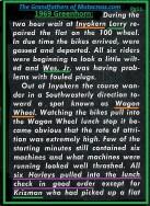 1969 Greenhorn M13 H-D team had few minor problems