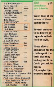 1969 Greenhorn b15 C. Bottum, Dick Dean, Parti, Roeseler,