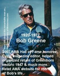 1969 Greenhorn b4d BOB GREENE PMC official & organizer