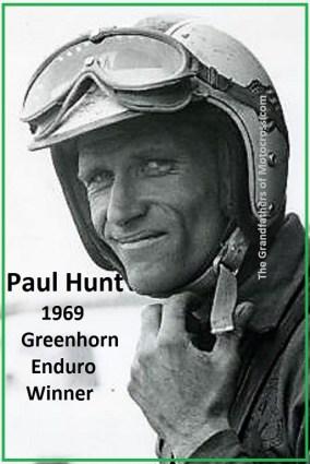 1969 a1a Greenhorn winner Paul Hunt, rode HD