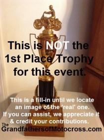 1969 a6 NO Greenhorn trophy to show