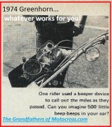 1974 a23c beeping device for the Greenhorn