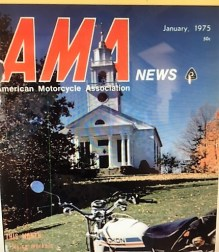 1974 d62 Jan. 1975 AMA magazine re Greenhorn winner result