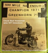 1971 Greenhorn a12 Howseman, Chuck 'Bud' from his personal scrap book