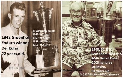1971 Greenhorn a36 2017 PMC honorary member Del Kuhn & pts.