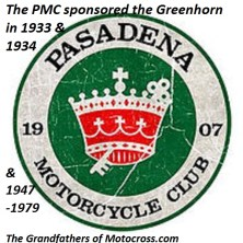 1971 Greenhorn a4 sponsored by Pasadena MC