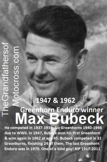 1971 Greenhorn b26b Max Bubeck