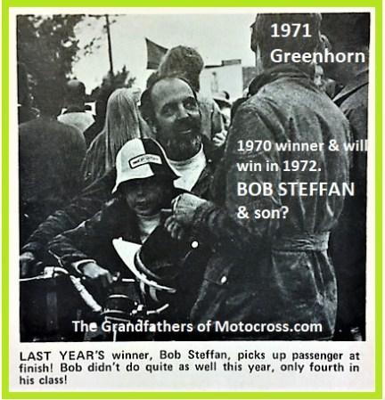1971 Greenhorn b26c Bob Steffan placed 4th in his class