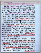 1971 Greenhorn d17b low dropouts, D. Ekins, G Burcham, D. Evans, Buck Smith