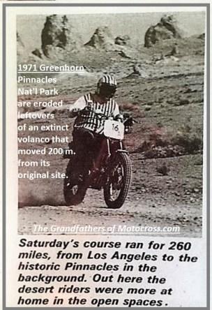 1971 Greenhorn d23 Sat. 260 miles, Pinnacles