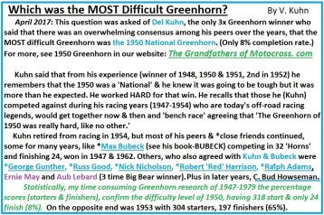 x9a Which was the most difficult Greenhorn