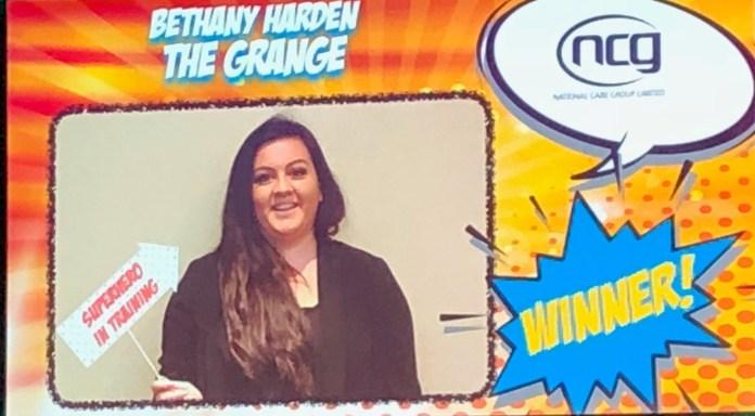 Beth winner on big screen