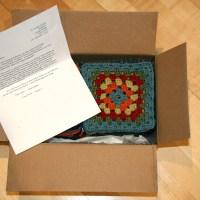 Crochet Granny Square Afghan - Update