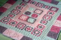 Crochet Baby Blanket Pretty In Pink