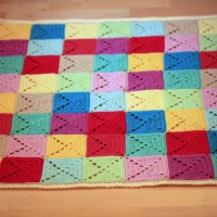 Bright and Bold Baby Blanket