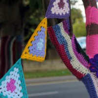 Charity Yarn Bombing - Part 1