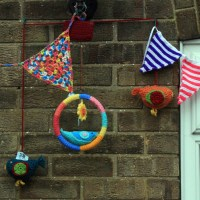 Charity Yarn Bombing - Part 3
