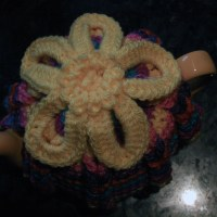 Large and Small Hot Hibiscus Tea Cosies