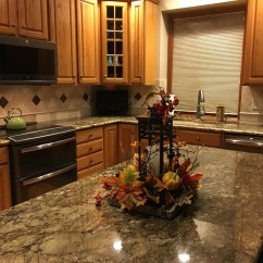 Kitchen Cabinets Columbus Ohio Wall Mounted Faucet Completed Countertops | The Granite Guy ...