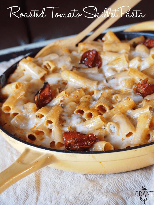 Roasted Tomato Skillet Pasta Dinner