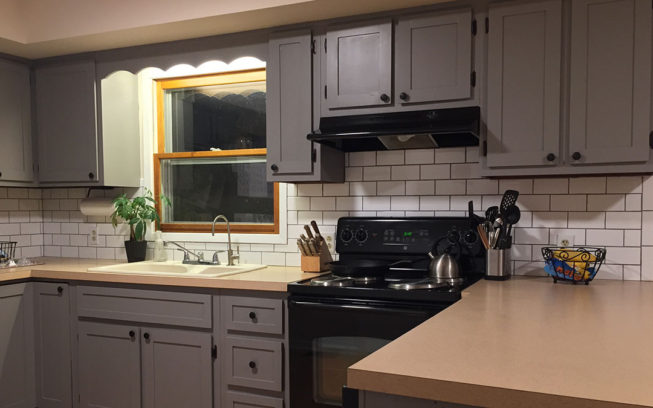kitchen on a budget cabinet set how to update 1970s the granvillian