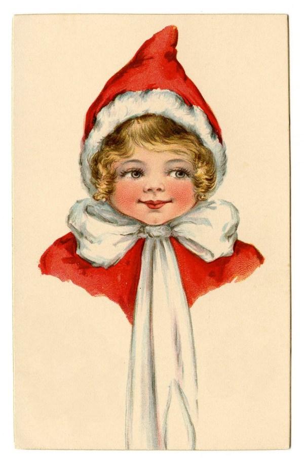 vintage christmas clip art - adorable