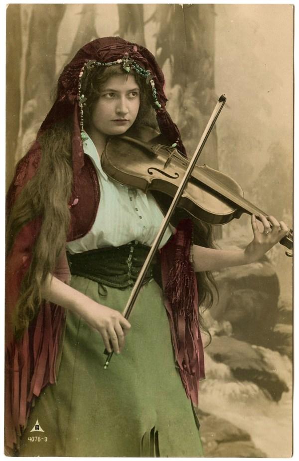 Vintage Gypsy Woman