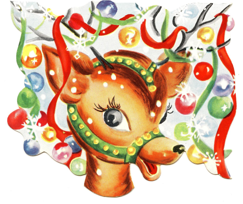 Antlers Reindeer Printable