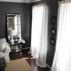 Curtains For My Living Room Light Brown Sofa Ideas New The Dining Graphics Fairy I Used To Have Similar In Here But When Redecorated Went With These White Linen Ones After Made Change Didn T