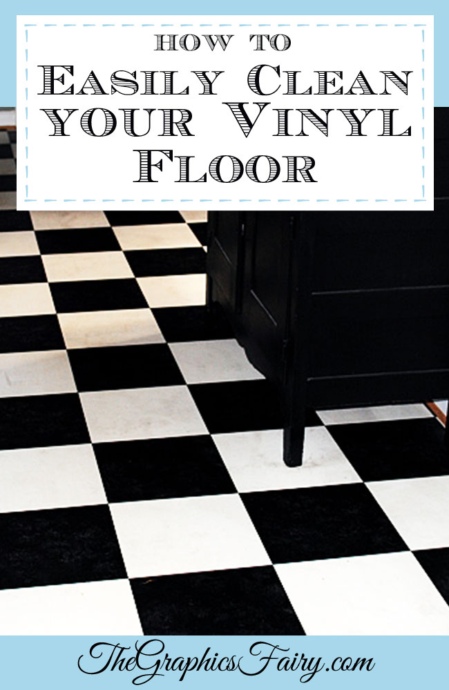 My Secret Tip How to Clean Vinyl Floors  Easily  The