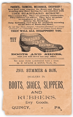 Victorian Graphic Shoe Trade Card The Graphics Fairy