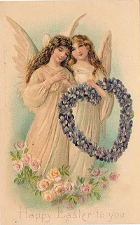 Free Easter Graphic 2 Beautiful Angels The Graphics Fairy