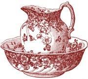 antique clip art - classic pitcher