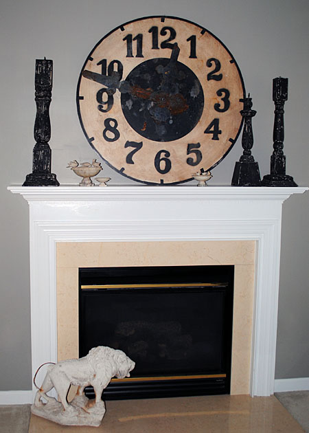 DIY  Updating a Fireplace  No more Brass  The Graphics Fairy