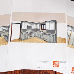 Home Depot Kitchen Designs Modern Cart Our Renovation With The Graphics Fairy Plans