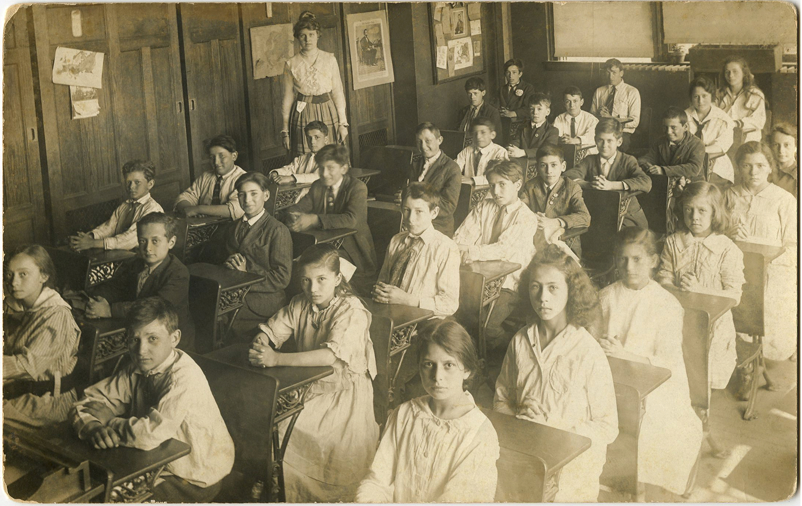 Old Photo Back To School