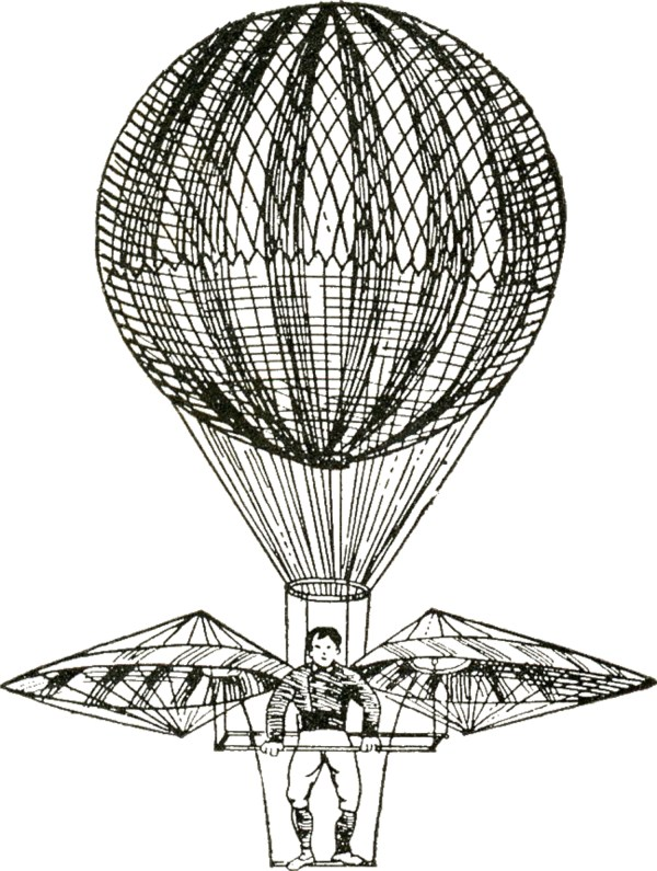 Vintage - Hot Air Balloons Steampunk