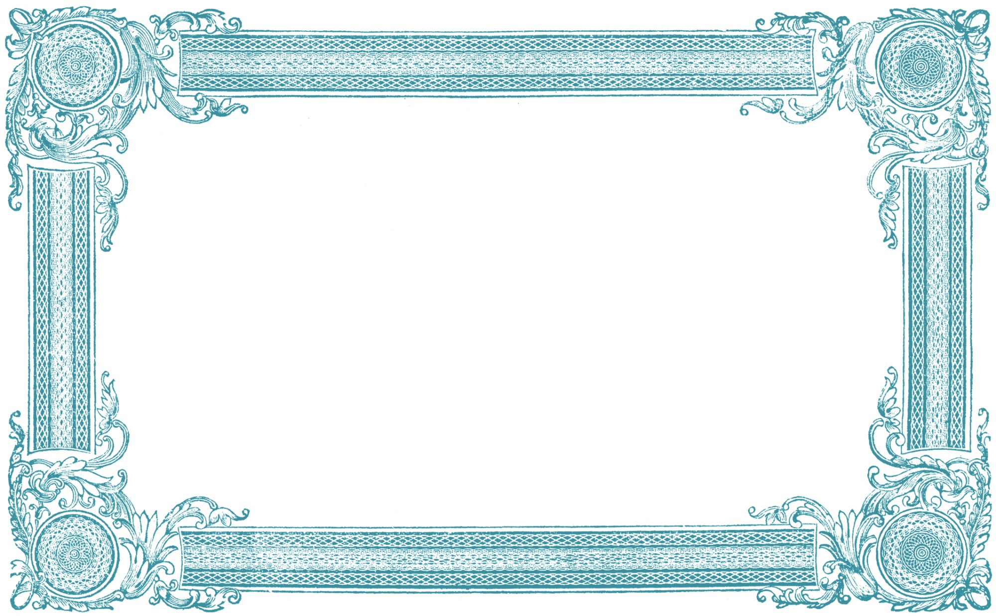 hight resolution of free frame clip art images
