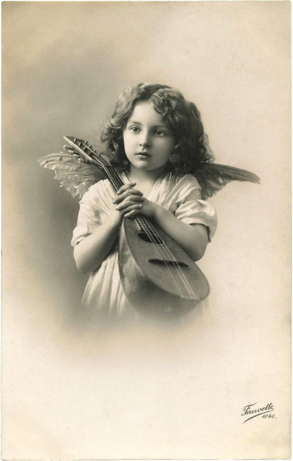 Sweetest Little Angel - Graphics Fairy