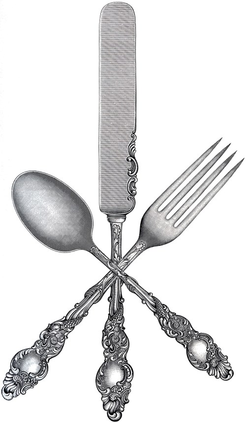 small resolution of free fork spoon knife clip art