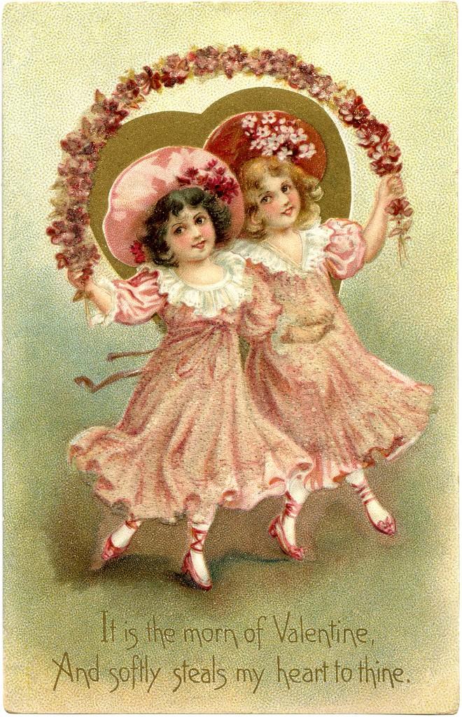 Free Vintage Valentine Image  The Graphics Fairy