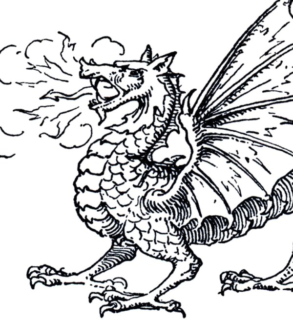 free dragon clip art - graphics