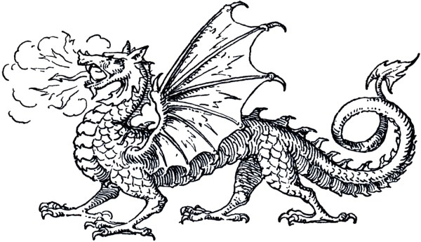 free dragon clip art - graphics