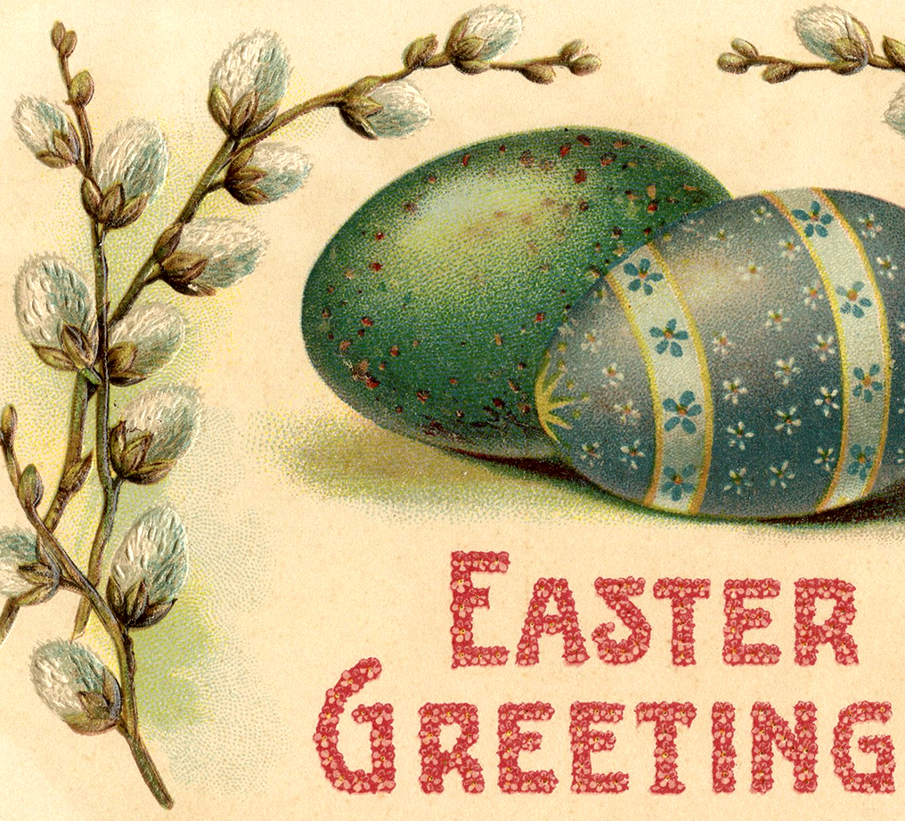 Fancy Easter Eggs Image The Graphics Fairy